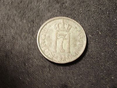 1909 Norway 10 ore coin - -sh Canada is 1.50