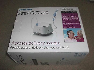 New Philips Respironics InnoSpire Compressor Nebulizer System in Retail Box