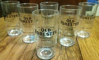 Old Forester - Straight Bourbon Whiskey 6 Glass Set