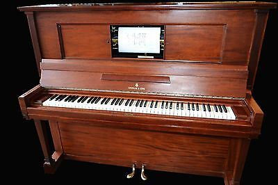 Rare restored 1918 Duo Art reproducing player piano by Steinway & Sons 55""