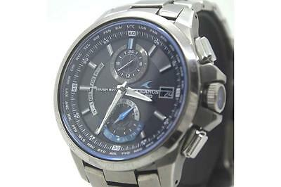 Auth CASIO Oceanus Men's Watch OCW-G1000 Titanium Solar 006009