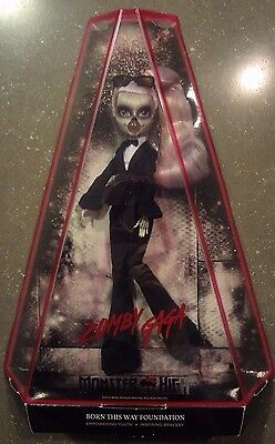 NEW IN BOX  Mattel Monster High ZOMBY LADY GAGA