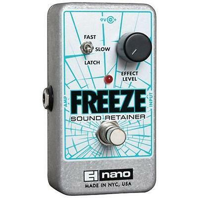 Electro-Harmonix EHX Freeze Sound Retainer Compressor Guitar Effects Pedal