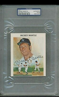 Mickey Mantle Autograph PSA/DNA Authentic!!