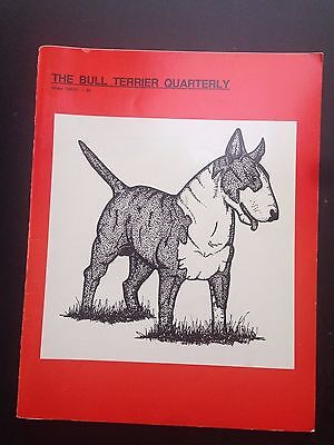 Vintage Canine Collectibles Magazine -Winter 1990-91 The Bull Terrier Quarterly