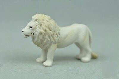 Japan original bulks wild animals white lion collectible figures PVC figurine