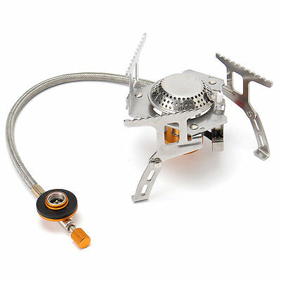 IPRee™ Camping Picnic Gas Stove Burner Portable Mini Windproof Butane Cooker 350