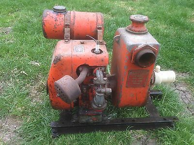 villiers water pump stationary engine