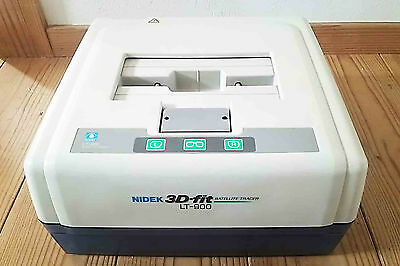NIDEK LT-900 3D fit satellite tracer tracer system LT900 calibrated working