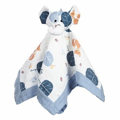Aden and Anais Organic Musy Mate Lovey Baby Security Toy Elephant Into the Woods