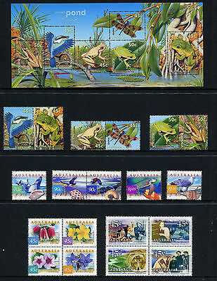 Australia 1999 Collection of Australian Stamps  FV $44.60 MNH /MUH Pristine cond
