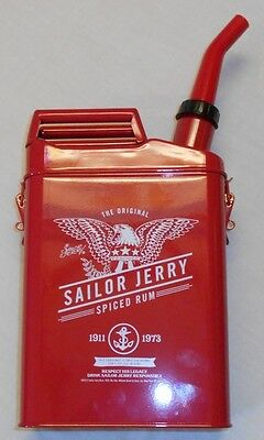 Sailor Jerry Red Gas Can Rum Decanter Collectors Piece