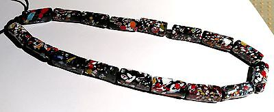 Strand of Vintage Venetian End-of-Day African Trade Beads