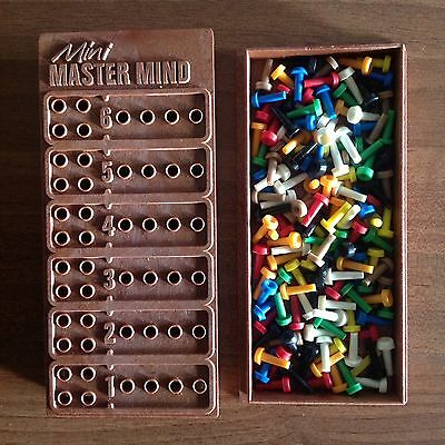 Mini Master Mind Retro Vintage Board Game Mastermind