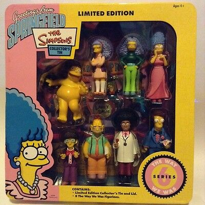 The Simpsons Figurines Collector's Tin [Limited Edition] Series 6