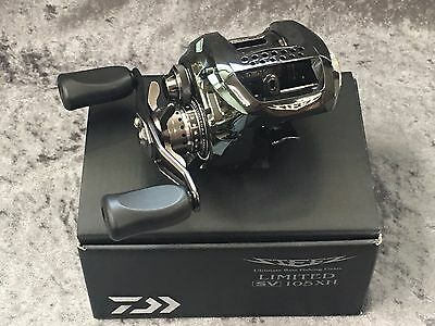 NEW DAIWA STEEZ LTD. SV 105XH Limited Right Handed EMS FREE/SHIPPING from JAPAN