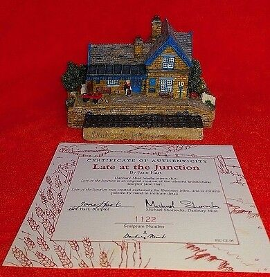 Late at the Junction By Jane Hart - Danbury Mint
