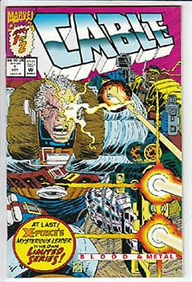 Cable    #1   Of #2    Vf+ / Nm 1994  Marvel