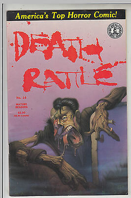 DEATH RATTLE   V1 #14  by KITCHEN SINK VF/VF+ 1988  COMICS AMERICAN COMIC