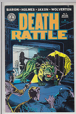 DEATH RATTLE   V1 #5  by KITCHEN SINK VF/VF+ 1986  COMICS AMERICAN COMIC