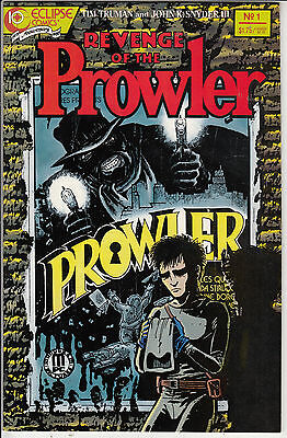 REVENGE OF THE PROWLER #1 VF/VF+  by ECLIPSE  COMICS AMERICAN COMIC 88