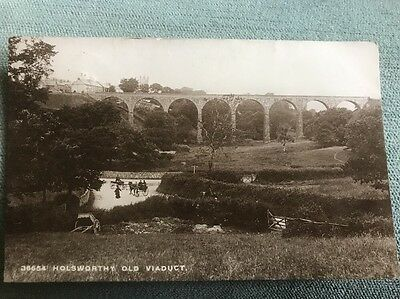 Holsworthy Old Viaduct Horse & Trap 1913