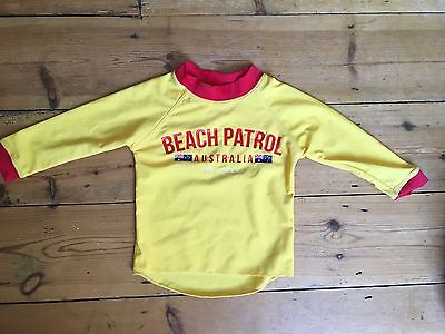 Baby Boys UV shirt Australia Life Guard 6-12 Months