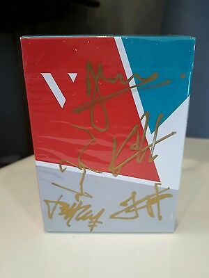 Virtuoso SS15 Limited Edition Custom Playing Cards Signed Edition Deck  Rare