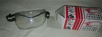 Vintage Bubble Goggles In box - Bike parachute horse riding - Clear Look :)