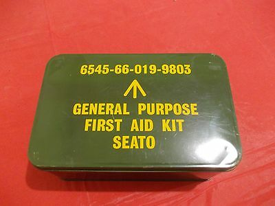 Container,First Aid Kit-SEATO-Vietnam War-Australian Military Forces-broad arrow