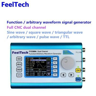 FeelTech DDS Function CNC Dual-CH Signal Generator Sweep Frequency Meter 2-25MHz