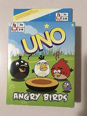 Angry Birds UNO CARDS Family Fun Playing Card Educational Toy Theme Board Game