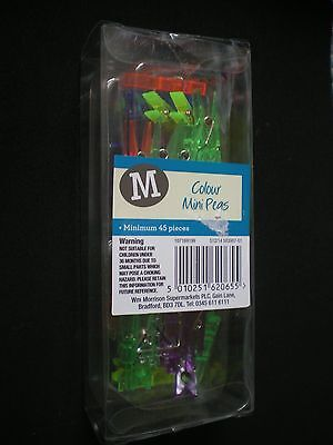 Brand New 'Coloured Mini Pegs' Pack