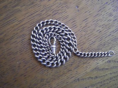 Solid Silver Pocket Watch Chain