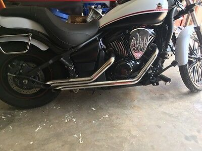 Kawasaki Vulcan Exhaust - hand made!