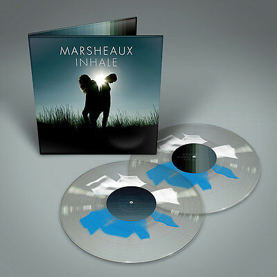 MARSHEAUX Inhale 2LP SHAPE SPLATTER VINYL 2016 LTD.200