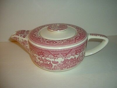 Vintage Royal China USA Pink Willow Teapot