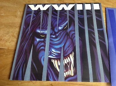 WWIII World War 3 - LP/Record, Hollywood Records Original Press, Time for Terror