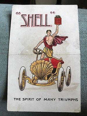 Advertising Automobiles SHELL 'The Spirit of Many Triumphs 1912