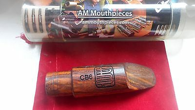 AM Mouthpieces WOOD Tenor 8  CB 6 Saxophone Mouthpiece .108  no berg larsen link