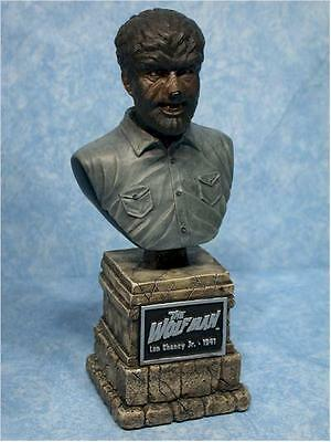 Wolfman Werewolf Universal  Monsters Horror Sideshow Figure Bust Figurine