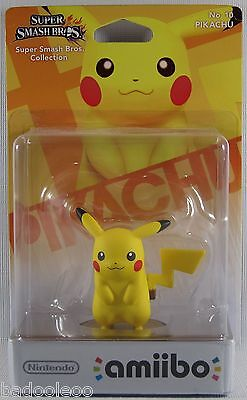 Pikachu amiibo Super Smash Bros series - AU release new in box Nintendo