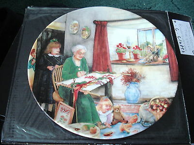 Royal Doulton Lmited Edition Plate (The Embroideress)