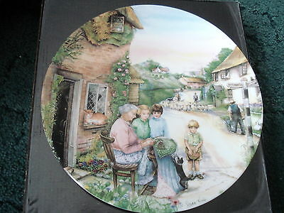 Royal Doulton Lmited Edition Plate (The Lacemaker)