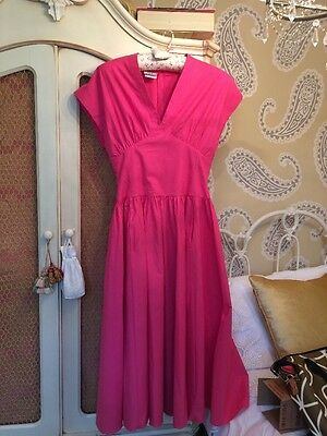 Vintage Laura Ashley Dress 12...........50's style