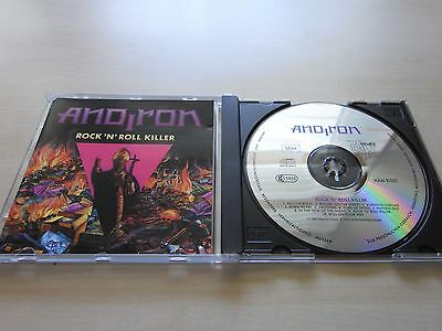 ANDIRON - Rock 'N' Roll Killer, CD Album 1991, CD Rarität!!!