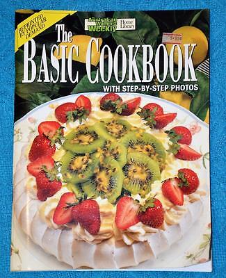 WOMENS WEEKLY~Cooking Class The Basic Cookbook~ Delicious easy food Recipes