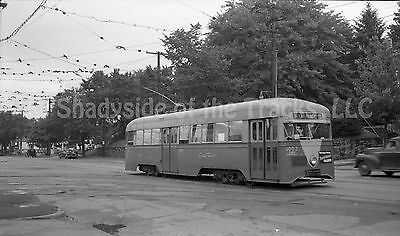 DC Capital Transit Brill Streetcar #1003 Original Negative DCT