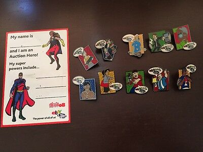 eBay Live! Chicago 2008 trading pins Dry Erase Hero Magnet 100% for charity