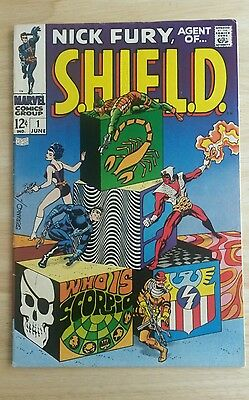 Nick Fury, Agent of Shield: Issues 1,2,3